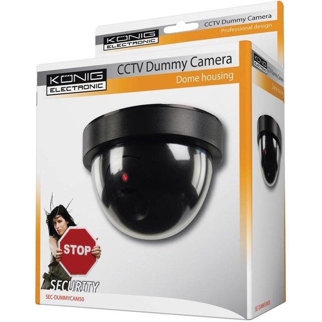 König CCTV Dummy Dome Binnencamera met IR LED