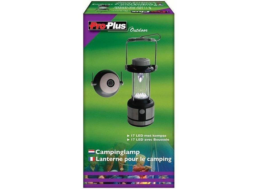 ProPlus Draagbare 17 LED's Lamp met Kompas
