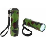ProPlus ProPlus 9 LED's Aluminium Zaklamp Army