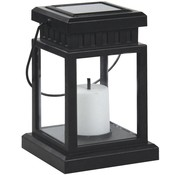 Ranex Ranex Solar LED Warm White Tuinlamp Lowa Black