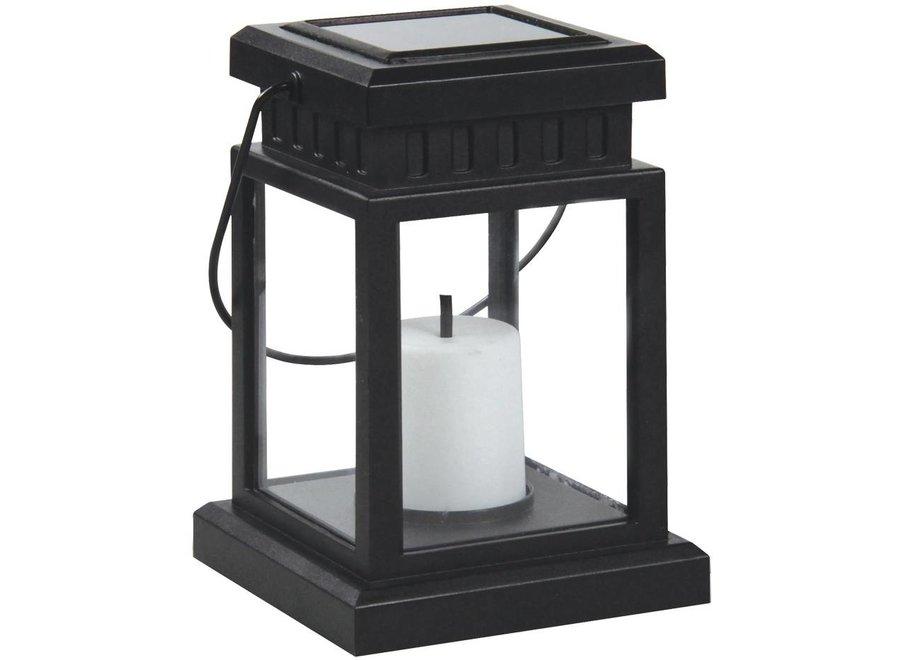 Ranex Solar LED Warm White Tuinlamp Lowa Black