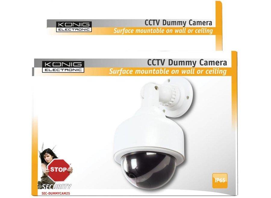 König CCTV Dummy Mini Speed Dome Camera met IR LED