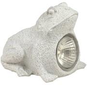 Ranex Ranex Solar LED Kikkerlamp Frog Grey