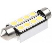 Festoon 8 x 5050 SMD LED Canbus White 42 MM 12V Autolamp