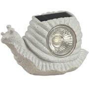 Ranex Ranex Solar LED Slaklamp Snail Grey