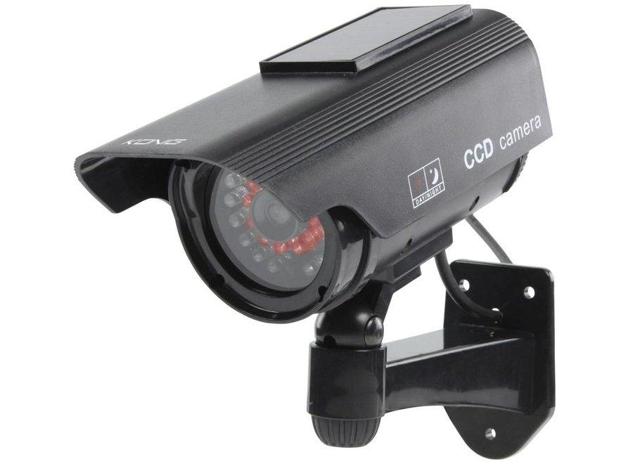 König CCTV Professional Dummy Solar Dome Camera met Actieve IR LED's