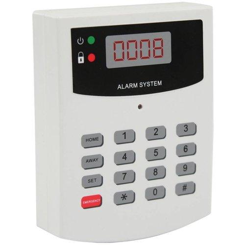 Konig König Dummy Alarmbedieningspaneel met LED indicator