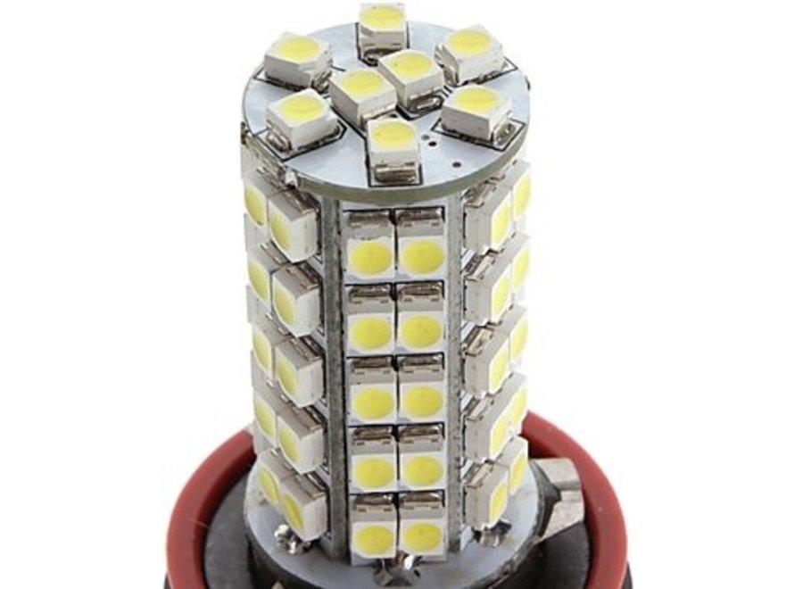 H11 68 x 1210 SMD LED Cool White 12V Mist- Koplamp