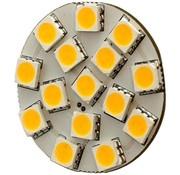 G4 15 x 5050 SMD LED Warm White 12V Chip