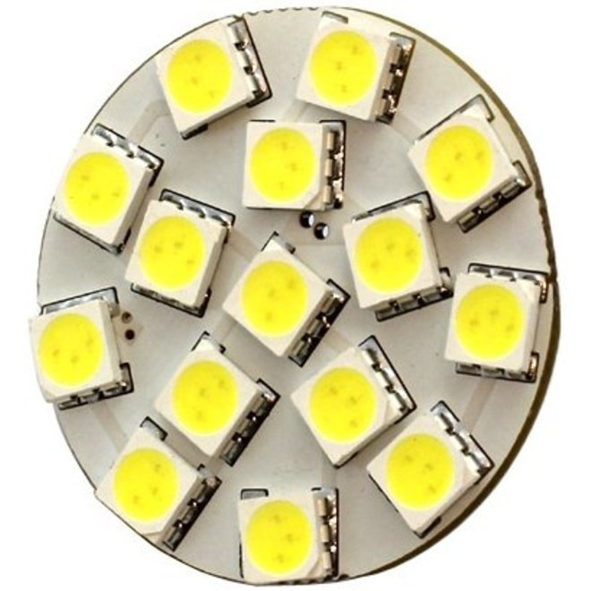 G4 15 x 5050 SMD LED Cool White 12V Chip