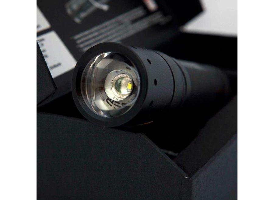 LED Lenser Hokus Focus CREE Power LED Zaklamp Aluminium Black
