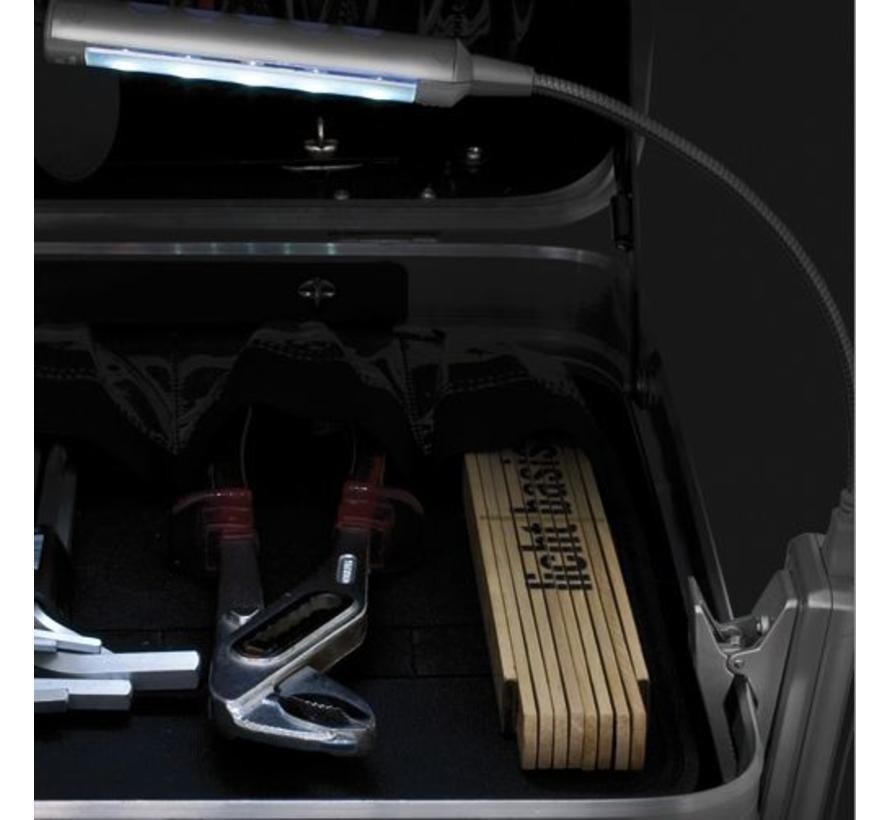 Ansmann Flex Light 5 White LED's USB Silver