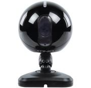Konig Konig 6 LED's IP Binnencamera Black