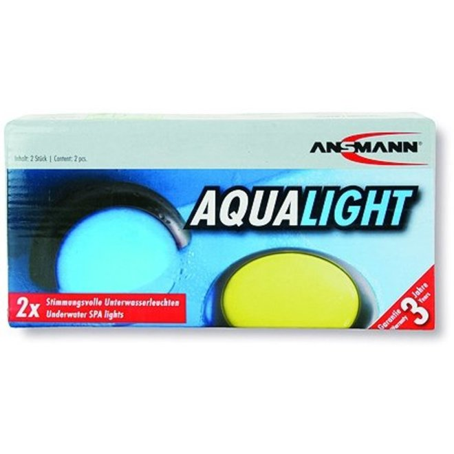 Ansmann Aqua Light LED Decoratielampjes Silver (2 stuks)