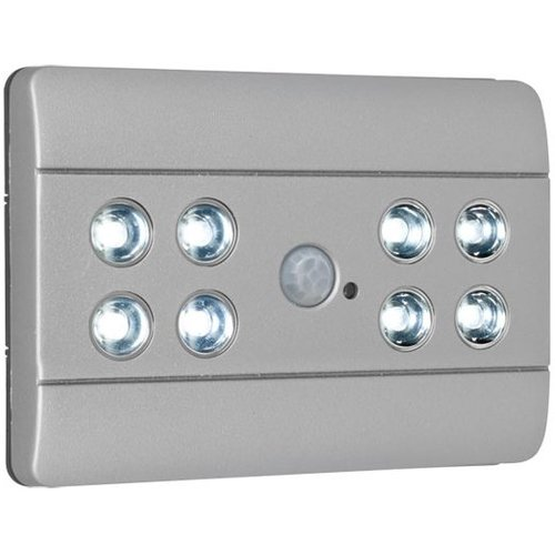 Briloner Briloner 8 LED's Design Sensor Lero Verlichting - Silver