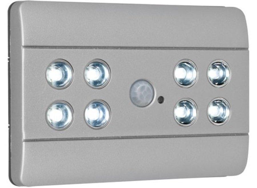 Briloner 8 LED's Design Sensor Lero Verlichting - Silver