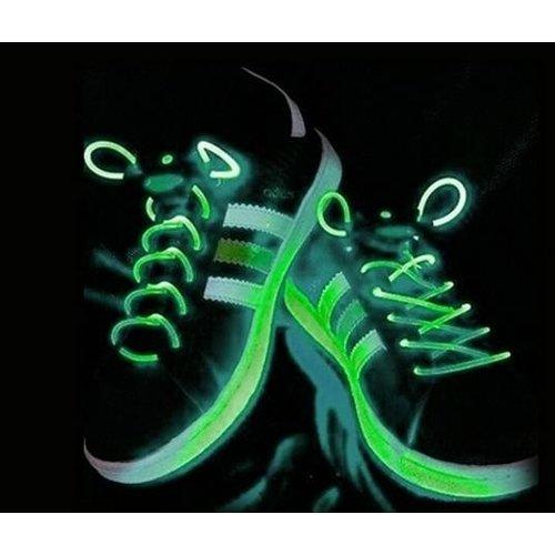BasicXL BasicXL Green LED Lichtgevende Schoenveters