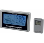 Konig Konig Blue LED Backlight Weerstation Silver