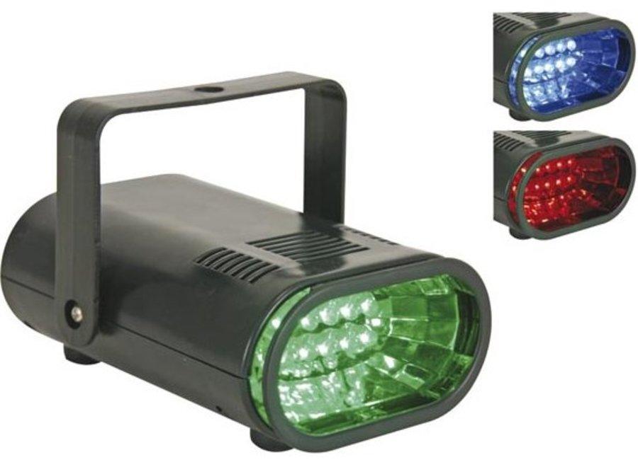 HQ Power RGB 10 LED's Stroboscoop