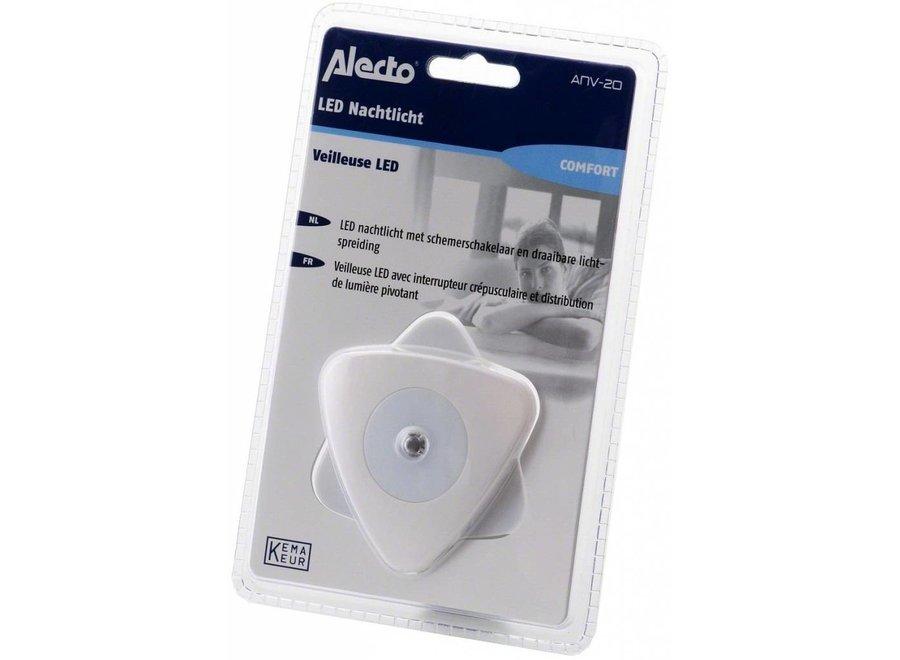 Alecto ANV-20 Blue LED Automatische Nachtlampje Grey