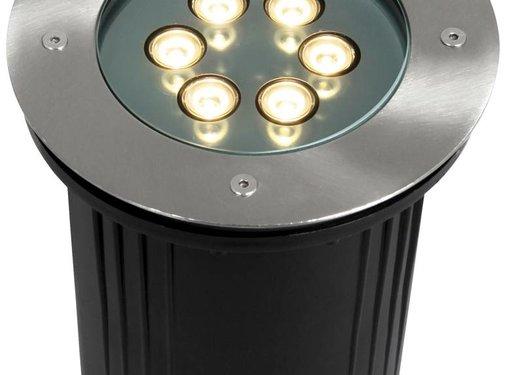 Ranex Ranex 6 Power LED's Grondspot Rond Avalon