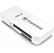 Transcend Transcend LED RDF5 Card Reader USB 3.0 White