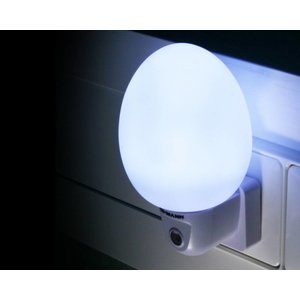 Ansmann Ansmann NL-4W Eivormig LED Nachtlampje - White