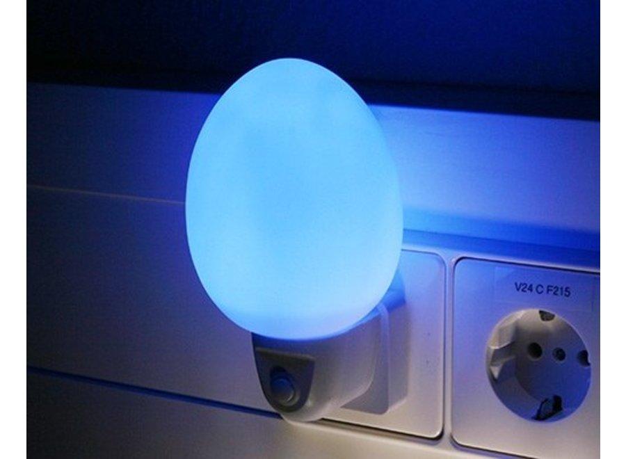 Ansmann NL-2B Eivormig LED Nachtlampje - Blue