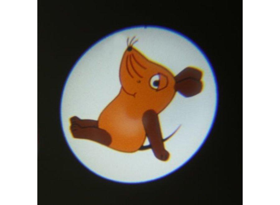 """Ansmann Projectie LED Zaklamp """"De Muis"""" Pink"""