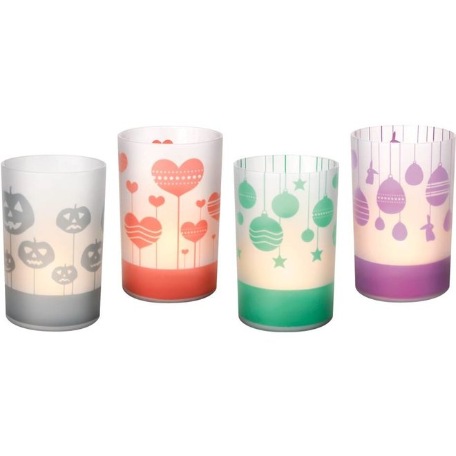 Philips CandleLights 2-Set Special Moments