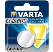 Varta Varta Knoopcel Batterij CR2032 Lithium 3V