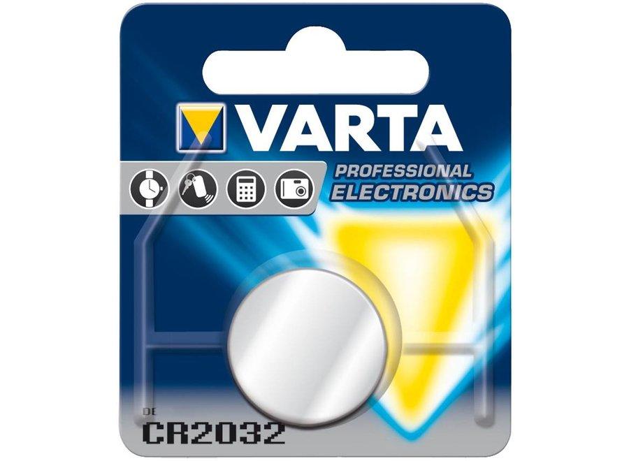 Varta Knoopcel Batterij CR2032 Lithium 3V