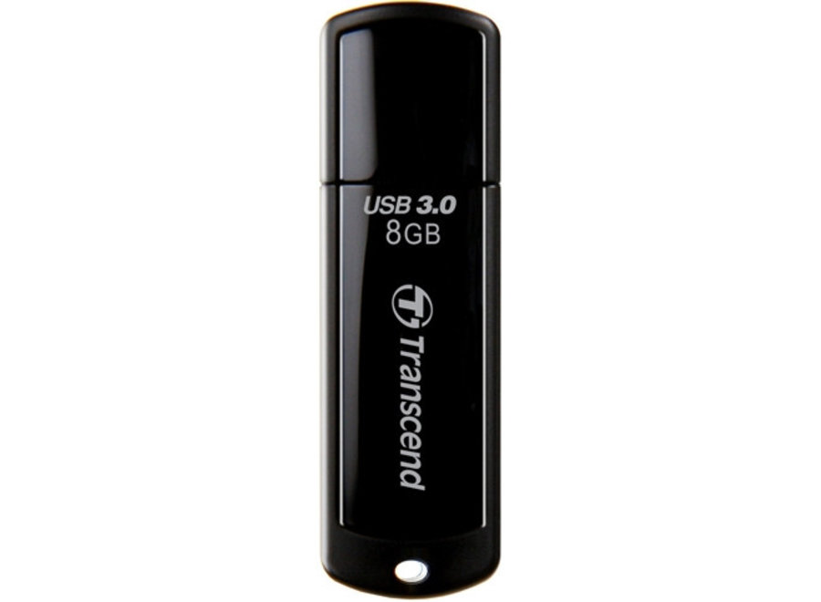 Transcend JetFlash 700 8 GB LED USB 3.0 SuperSpeed Black