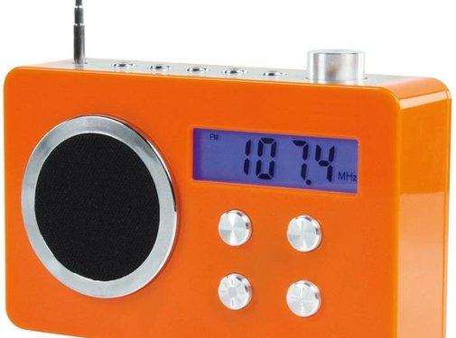 BasicXL BasicXL Draagbare FM Radio Orange
