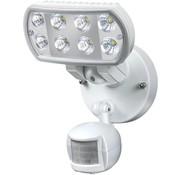 Brennenstuhl Brennenstuhl L801 8 LED's Muurlamp met Bewegingsmelder White