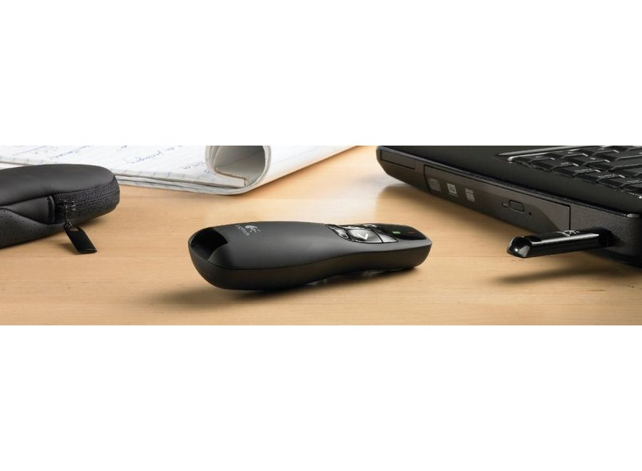 Logitech R400 LED Wireless Presenter