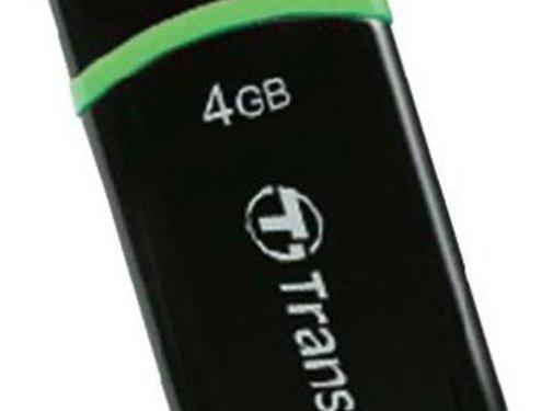 Transcend Transcend JetFlash 300 4 GB LED USB 2.0 Black/Green