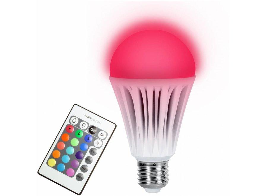 Technaxx E27 RGB LED Lamp 10 W met Afstandsbediening