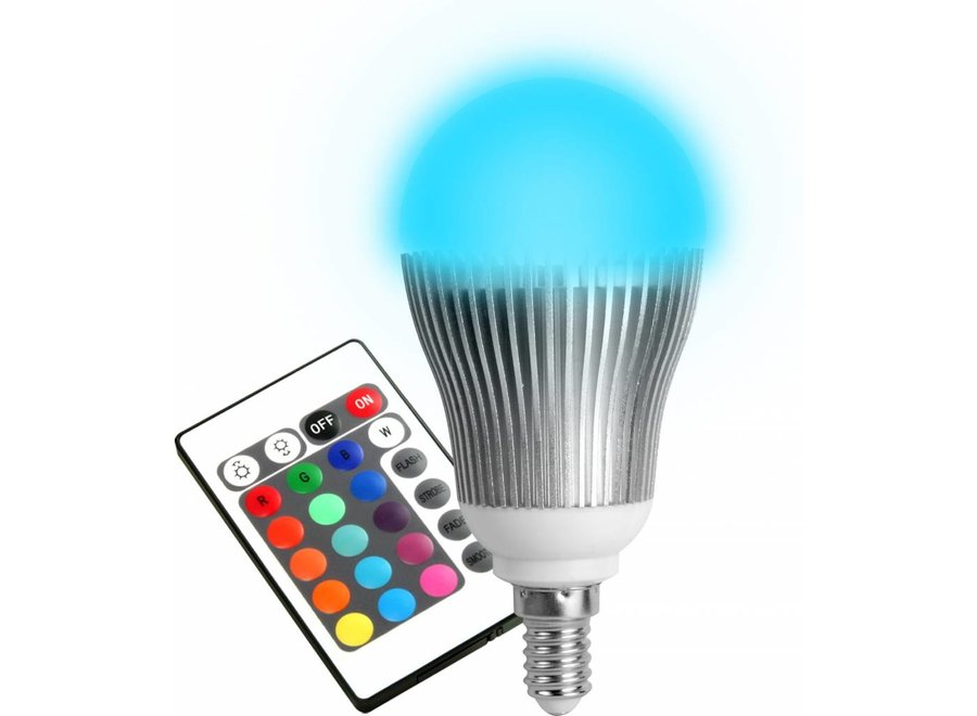 Technaxx E14 RGB LED Lamp 5 W met Afstandsbediening