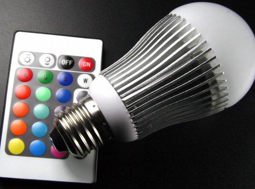 Technaxx Technaxx E27 RGB LED Lamp 5 W met Afstandsbediening
