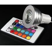 Technaxx Technaxx GU10 RGB LED Spot 4 W met Afstandsbediening