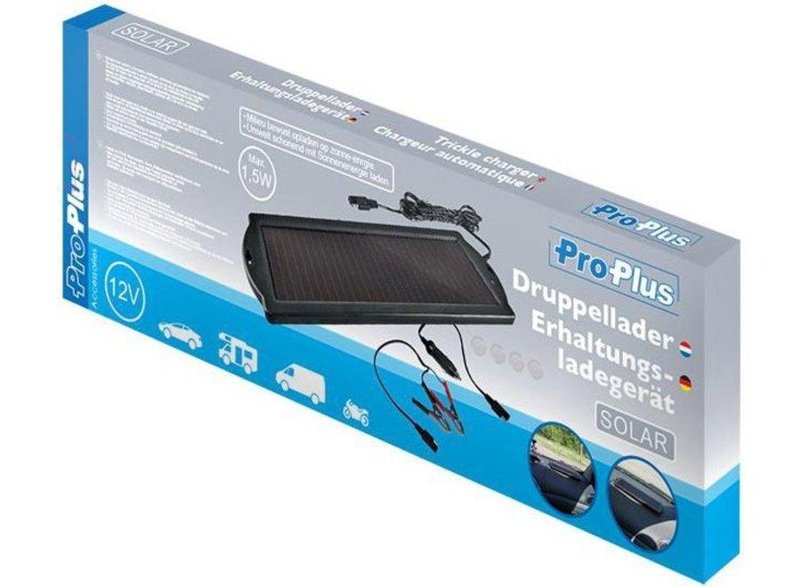 ProPlus Solar LED 1,5 W Accu Druppellader