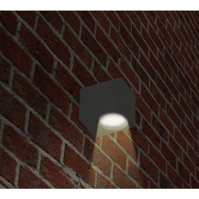 Ranex Mika SMD 3 W LED Wandlamp Aluminium - Glas
