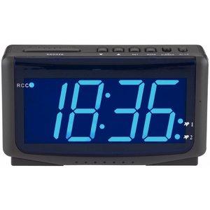 Balance Time Balance Time Blue LED Wekker Zendergestuurd Black
