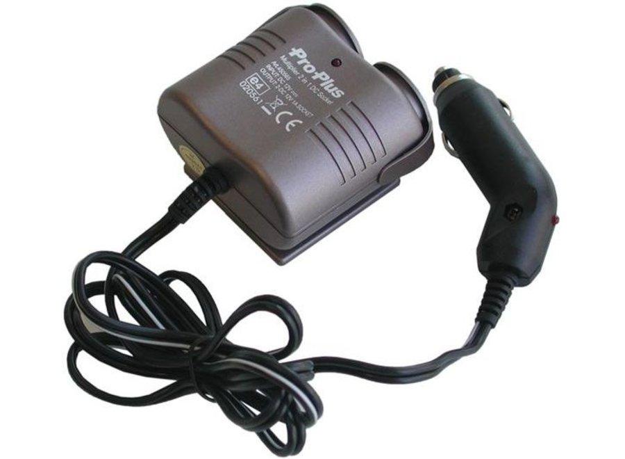 ProPlus 12V LED Car Sigaretten aansteker Splitter 2-Weg