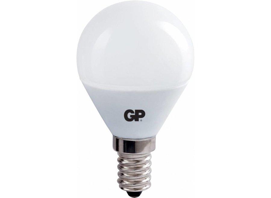 GP E14 LED Lamp Mini Bol 2.5 W (15 W) - Warm White