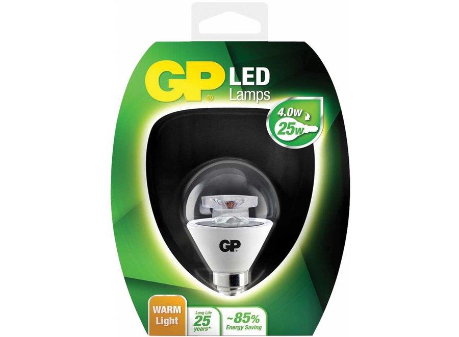GP E14 LED Lamp Mini Bol Helder 4 W (25 W) - Warm White