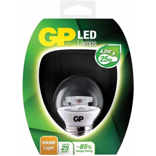 GP E27 LED Lamp Mini Bol Helder 4 W (25 W) - Warm White