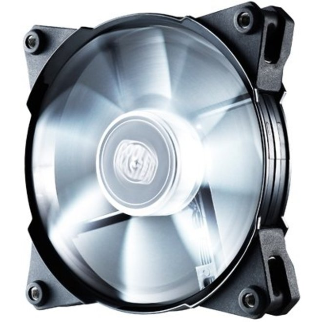 Cooler Master Case Fan Jetflo 120 White LED's