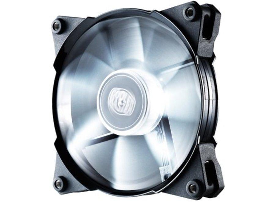 Cooler Master Case Fan Jetflo 120 White LED's